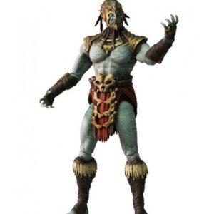 KOTAL KAHN FIGURINE ARTICULÉE - MORTAL KOMBAT X - SERIE 2 - MEZCO TOYS - 15 CM - 0 - MEZ89011 – 696198890112 – kingdom-figurine.fr