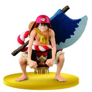 LUFFY FIGURINE - ONE PIECE FILM GOLD - BIG ZOUKEIO SPECIAL - SCultures – BANPRESTO - 12 CM – 3296580253029 – kingdom-figurine.fr