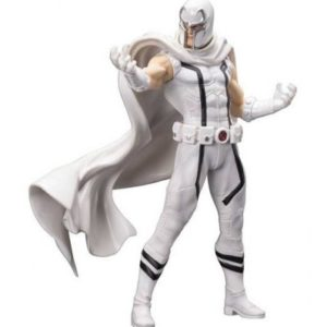 MAGNETO WHITE STATUETTE PVC - ARTFX+ - ÉCHELLE 1-10 - UNCANNY X-MEN - MARVEL NOW - KOTOBUKIYA - EU EXCLUSIVE - 20 CM - 4934054092994 - kingdom-figurine.fr