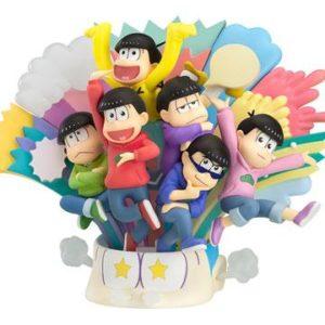MATSUNO BROTHERS DIORAMA PVC - OSOMATSU SAN - GOOD SMILE COMPANY - 14 CM - 1 - 4580416940146 - kingdom-figurine.fr