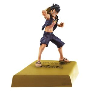 MONKEY D LUFFY FIGURINE - ONE PIECE – DXF - MANHOOD 2 – BANPRESTO - 12 CM – 3296580254033 – kingdom-figurine.fr