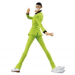 Mr. 2 BON CLAY GREEN SUIT VERSION FIGURINE PVC - ONE PIECE - CREATOR X CREATOR - BANPRESTO - 20 CM - 3296580257447 - kingdom-figurine.fr