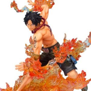 PORTGAS D. ACE BROTHER'S BOND FIGURINE PVC - ONE PIECE - FIGUARTS ZERO - TAMASHII NATIONS - 16 CM - 1 - 4549660143352 - kingdom-figurine.fr
