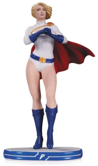 POWER GIRL STATUETTE EN RÉSINE - DC COMICS COVER GIRL - DC COLLECTIBLES - 25 CM - 761941336145 - kingdom-figurine.fr