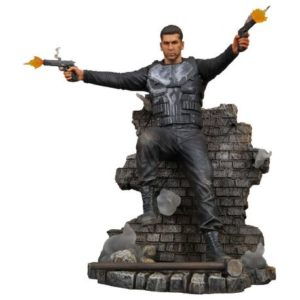 PUNISHER STATUETTE PVC - MARVEL GALLERY - PUNISHER TV SERIES VERSION 2 - DIAMOND SELECT TOYS - 23 CM – 1 - 699788828243 – kingdom-figurine.fr
