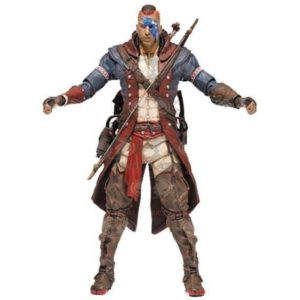 REVOLUTIONAR CONNOR FIGURINE ARTICULÉE - ASSASSIN'S CREED - SERIE 5 - Mc FARLANE TOYS - 15 CM - 787926810530 - kingdom-figurine.fr