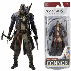 REVOLUTIONAR CONNOR FIGURINE ASSASSIN'S CREED SERIE 5 McFARLANE TOYS 15 CM 787926810530 kingdom-figurine.
