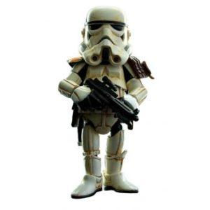 SANDTROOPER FIGURINE ARTICULÉE HYBRID MÉTAL - STAR WARS - HEROCROSS - 13 CM - 4897058780192 - kingdom-figurine.fr