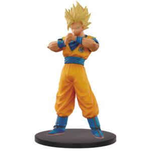 SON GOKU SUPER SAIYAN 2 FIGURINE - DRAGON BALL - DFX THE SUPER WARRIORS VOL. 5 - BANPRESTO - 18 CM – 3296580269761 – kingdom-figurine.fr