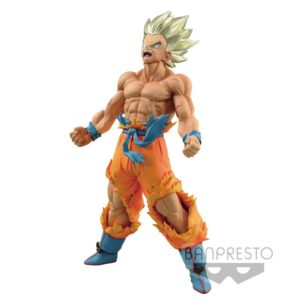 SON GOKU SUPER SAYAN FIGURINE - DBZ - BLOOD OF SAIYANS - BANPRESTO - 18 CM - 3296580266357 - kingdom-figurine.fr