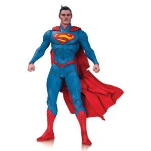SUPERMAN FIGURINE ARTICULÉE - DC COMICS - DESIGNER SERIES BY JAE LEE - DC COLLECTIBLES - 17 CM - 0 - DCCFEB150296 – 761941327266 – kingdom-figurine.fr