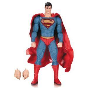 SUPERMAN FIGURINE ARTICULÉE - DC COMICS - DESIGNER SERIES BY LEE BERMEJO - DC COLLECTIBLES - 17 CM - 0 - DCCOCT150295 – 761941336114 – kingdom-figurine.fr