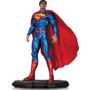 SUPERMAN-STATUETTE-RÉSINE-DC-COMICS-ICONS-DC-COLLECTIBLES-28-CM-761941320038-kingdom-figurine.fr