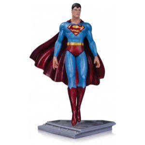 SUPERMAN STATUETTE RÉSINE - THE MAN OF STEEL - MOEBIUS - DC COLLECTIBLES - 20 CM - DCCSEP140360 – 761941326863 – kingdom-figurine.fr