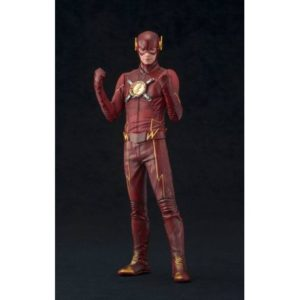 THE FLASH STATUETTE PVC - ARTFX+ - ÉCHELLE 1-10 - DC COMICS - KOTOBUKIYA - EU EXCLUSIVE - 19 CM - 0 - KTOSV217 – 4934054903689 – kingdom-figurine.fr