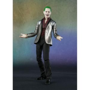THE JOKER FIGURINE ARTICULÉE -SUICIDE SQUAD - S.H. FIGUARTS -TAMASHII NATIONS - 15 CM - 4549660112105 - kingdom-figurine.fr