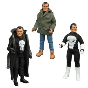 THE PUNISHER FIGURINE ARTICULÉE - MARVEL RETRO - SET LIMITED EDITION COLLECTOR - DIAMOND SELECT TOYS - 20 CM - 1 - DIAMDEC162577 – 699788184066 – kingdom-figurine.fr