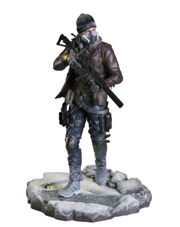 TOM CLANCY´S STATUETTE PVC - TOM CLANCY'S THE DIVISION - SHD AGENT - UBICOLLECTIBLES - UBISOFT - 24 CM - 2 - 887256027025 - kingdom-figurine.fr
