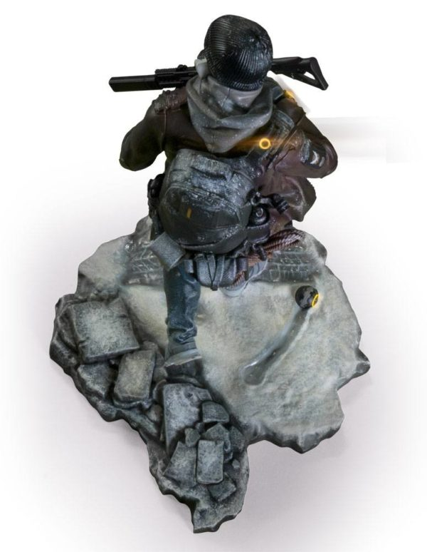 TOM CLANCY´S STATUETTE PVC - TOM CLANCY'S THE DIVISION - SHD AGENT - UBICOLLECTIBLES - UBISOFT - 24 CM - 5 - 887256027025 - kingdom-figurine.fr