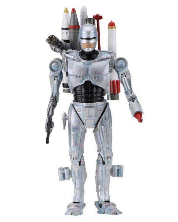 ULTIMATE FUTURE ROBOCOP FIGURINE ARTICULÉE - ROBOCOP VS THE TERMINATOR - NECA - 18 CM – 1 - 634482420775 – kingdom-figurine.fr