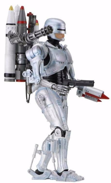 ULTIMATE FUTURE ROBOCOP FIGURINE ARTICULÉE - ROBOCOP VS THE TERMINATOR - NECA - 18 CM – 2 - 634482420775 – kingdom-figurine.fr