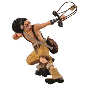 USOPP FIGURINE PVC - ONE PIECE - KING OF ARTIST - BANPRESTO - 14 CM - 3296580256754 - kingdom-figurine.fr