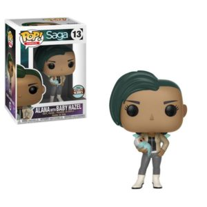 ALANA WITH BABY HAZEL FIGURINE –SAGA - SPECIALTY SERIES -FUNKO - POP COMICS 13 – (1Bis) - 889698274135 – kingdom-figurine