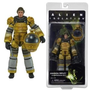 AMANDA RIPLEY TORRENS (SPACE SUITE) FIGURINE ARTICULÉE -ALIENS (ISOLATION) -SERIE 6 - NECA - 17 CM - (1) -634482513682 - kingdom-figurine.fr