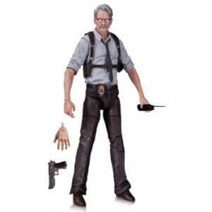 COMMISSAIRE GORDON FIGURINE ARTICULÉE - DC COMICS - BATMAN ARKHAM KNIGHT - DC COLLECTIBLES -17 CM -0 - DCCJUN150344 – 761941328010 – kingdom-figurine.fr
