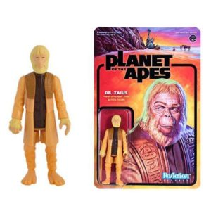 Dr. ZAIUS FIGURINE ARTICULÉE - LA PLANÈTE DES SINGES - RE-ACTION - SUPER7 - 10 CM - SUP7-POTAW01-DRZ-01 – 811169030070 – kingdom-figurine.fr