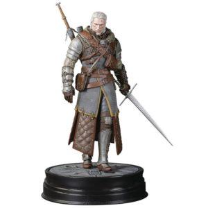GERALT GRANDMASTER URSINE STATUETTE PVC - WITCHER 3 WILD HUNT - DARK HORSE - 20 CM - 0 - DAHO3000-891 – 761568001778 – kingdom-figurine.fr