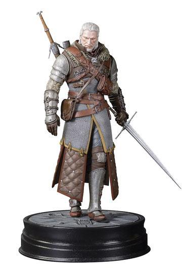 GERALT GRANDMASTER URSINE STATUETTE PVC - WITCHER 3 WILD HUNT - DARK HORSE - 20 CM - DAHO3000-891 – 761568001778 – kingdom-figurine.fr