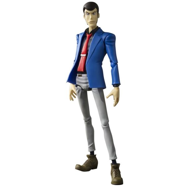 LUPIN THE THIRD FIGURINE ARTICULÉE - SH FIGUARTS - TAMASHII NATIONS - 15 CM – 0 - 4549660040910 – kingdom-figurine.fr