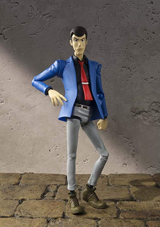 LUPIN THE THIRD FIGURINE ARTICULÉE - SH FIGUARTS - TAMASHII NATIONS - 15 CM – 2 - 4549660040910 – kingdom-figurine.fr