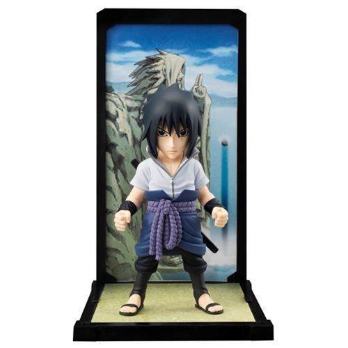 SASUKE UCHIHA FIGURINE AVEC DÉCOR - NARUTO SHIPPUDEN - BUDDIES TAMASHII NATIONS - 9 CM - 0 - NSTB02 – 4549660052067 – kingdom-figurine.fr