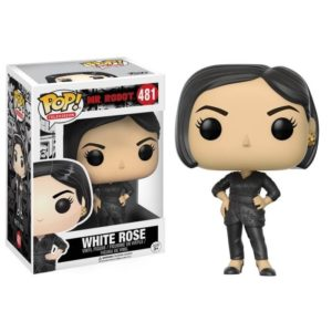 WHITEROSE FIGURINE - Mr. ROBOT - FUNKO - POP TELEVISION 481 - 849803098810 - kingdom-figurine.fr