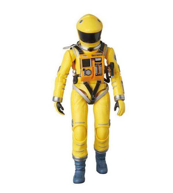 2001, L'ODYSSÉE DE L'ESPACE FIGURINE ARTICULÉE - MAF EX - SPACE SUIT YELLOW VERSION - MEDICOM TOY - 16 CM – (1) - 4530956470351 – kingdom-figurine.fr