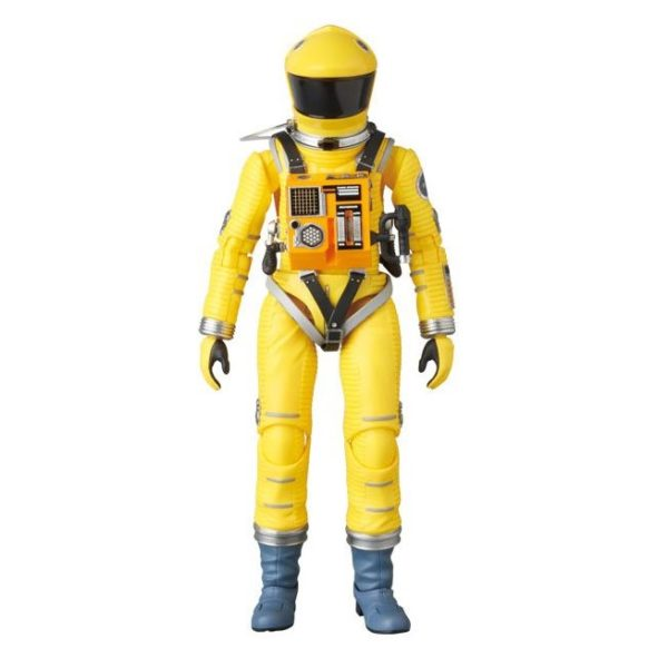 2001, L'ODYSSÉE DE L'ESPACE FIGURINE ARTICULÉE - MAF EX - SPACE SUIT YELLOW VERSION - MEDICOM TOY - 16 CM – (2) - 4530956470351 – kingdom-figurine.fr