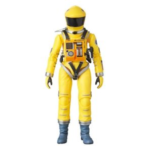 2001, L'ODYSSÉE DE L'ESPACE FIGURINE ARTICULÉE - MAF EX - SPACE SUIT YELLOW VERSION - MEDICOM TOY - 16 CM – (2) - 4530956470351 – kingdom-figurine.fr