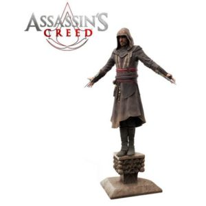 AGUILAR STATUE PVC - ÉCHELLE 1-5 - ASSASSIN'S CREED - TRIFORCE - 35 CM – (1) - 859222006365 – kingdom-figurine.fr
