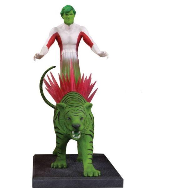BEAST BOY STATUETTE RÉSINE - TEEN TITANS - DC COMICS - DC COLLECTIBLES - 20 CM – (1) - 761941354286 – kingdom-figurine.fr
