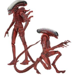 BIG CHAP & DOG ALIEN PACK 2 FIGURINES ARTICULÉES - ALIENS GENOCIDE - NECA - 23 CM – (1) - 634482516256 – kingdom-figurine.fr