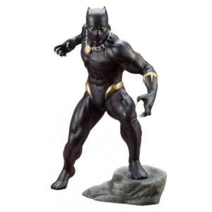 BLACK PANTHER STATUE PVC - ARTFX+ - 1-10 - MARVEL COMICS - KOTOBUKIYA - 17 CM – (1) - 190526011823 – kingdom-figurine.fr