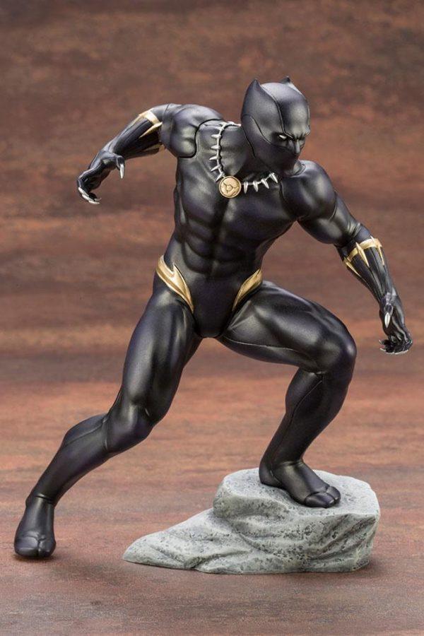 BLACK PANTHER STATUE PVC - ARTFX+ - 1-10 - MARVEL COMICS - KOTOBUKIYA - 17 CM – (10) - 190526011823 – kingdom-figurine.fr