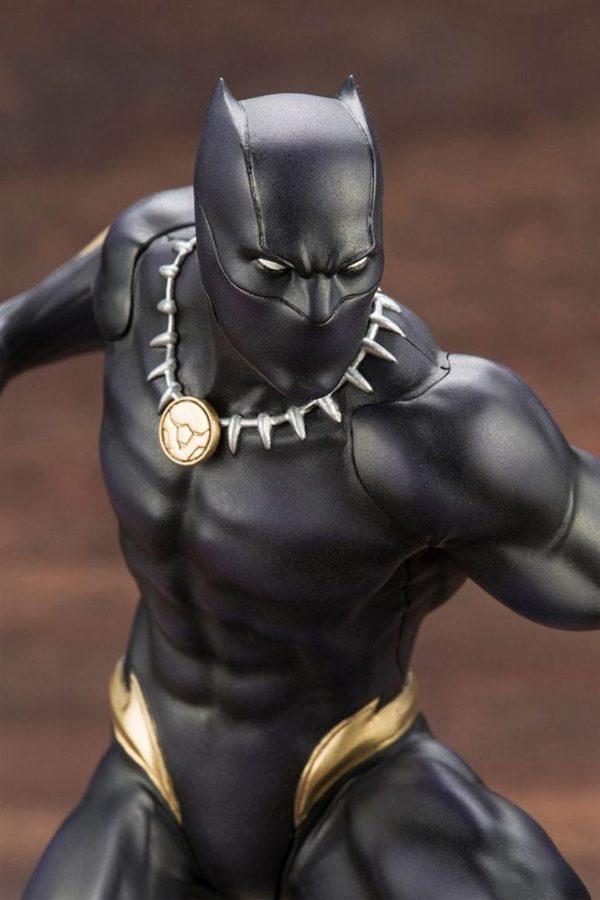 BLACK PANTHER STATUE PVC - ARTFX+ - 1-10 - MARVEL COMICS - KOTOBUKIYA - 17 CM – (11) - 190526011823 – kingdom-figurine.fr