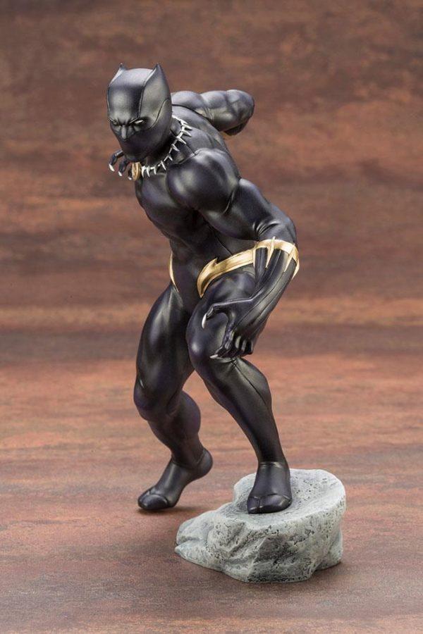 BLACK PANTHER STATUE PVC - ARTFX+ - 1-10 - MARVEL COMICS - KOTOBUKIYA - 17 CM – (3) - 190526011823 – kingdom-figurine.fr