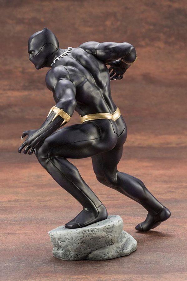 BLACK PANTHER STATUE PVC - ARTFX+ - 1-10 - MARVEL COMICS - KOTOBUKIYA - 17 CM – (5) - 190526011823 – kingdom-figurine.fr