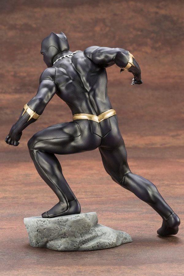 BLACK PANTHER STATUE PVC - ARTFX+ - 1-10 - MARVEL COMICS - KOTOBUKIYA - 17 CM – (6) - 190526011823 – kingdom-figurine.fr
