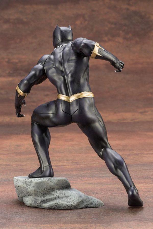 BLACK PANTHER STATUE PVC - ARTFX+ - 1-10 - MARVEL COMICS - KOTOBUKIYA - 17 CM – (7) - 190526011823 – kingdom-figurine.fr