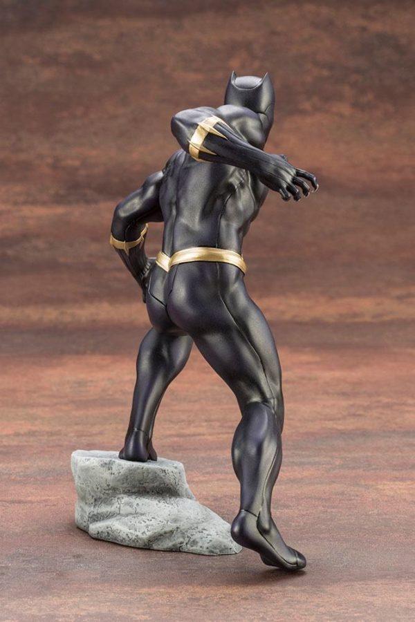 BLACK PANTHER STATUE PVC - ARTFX+ - 1-10 - MARVEL COMICS - KOTOBUKIYA - 17 CM – (8) - 190526011823 – kingdom-figurine.fr